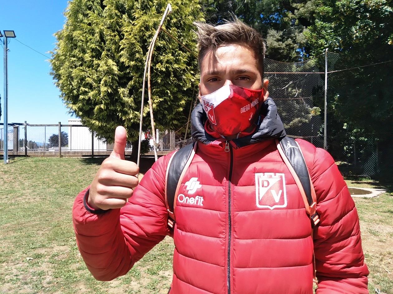 Diego Muñoz, defensa de Deportes Valdivia